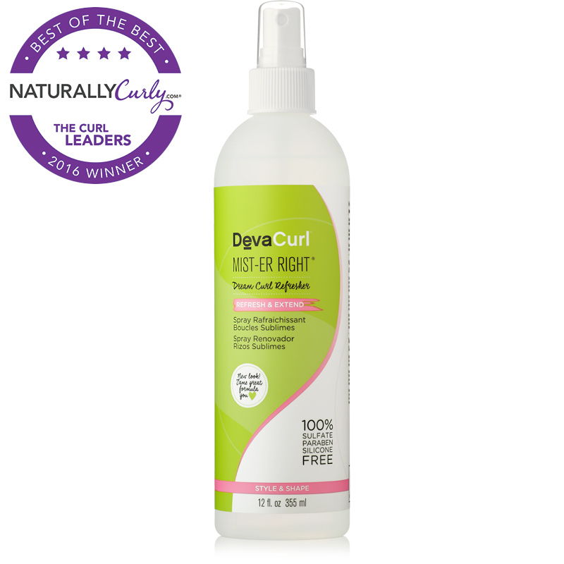 Favorite Second-Day Product - DevaCurl Mist-er Right Curl Refresher